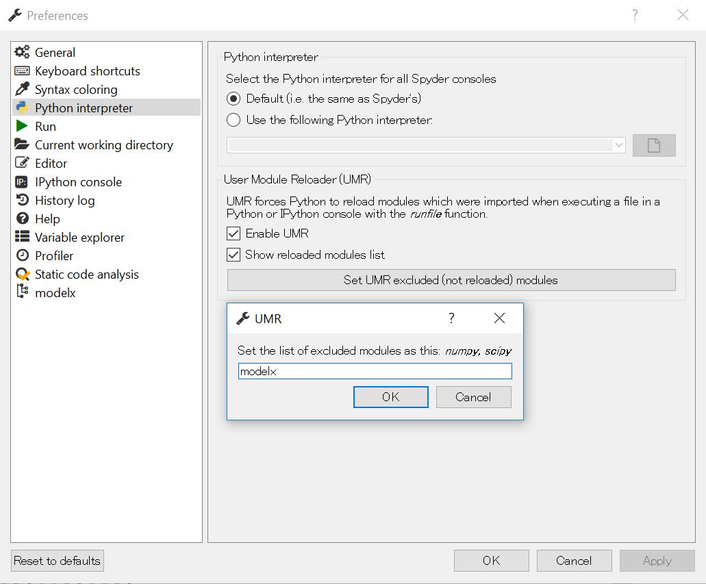 Spyder plugin — modelx 0 0 23 dev documentation